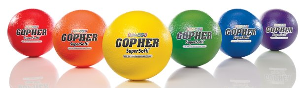 Gopher SuperSofti™ Coated-Foam Balls