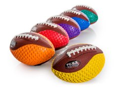 Gripper Traditional - Introductory Football, Rainbow Size 2