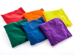 Rainbow® Cotton Beanbags