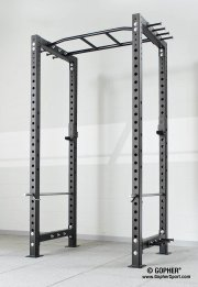 Tall ironrange power rack