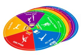 Fit-N-Spin - Nutrition Templates, Set of 6
