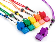 Fox 40® Pealess Whistles