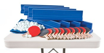 Full table tennis set