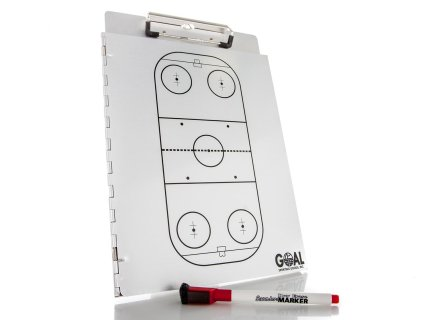 Aluminum Hockey Clipboard