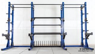 Full empty elite rack for storage