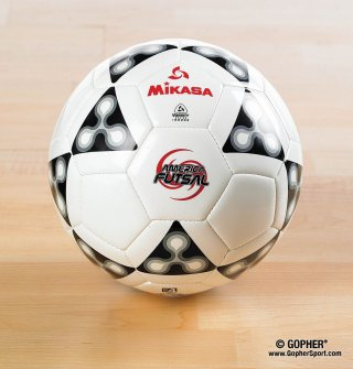 Single size 5 mikasa indoor soccer ball