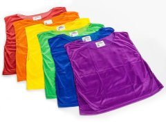 Rainbow RelaxFit Classic Mesh Vests Medium, Set of 6