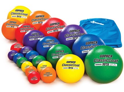 Rainbow® Coated-Foam Ball Pack One