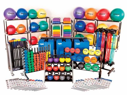 Professional fitness set for PE classes