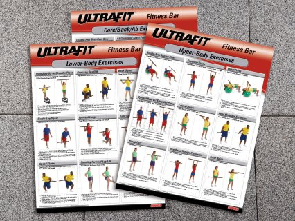 Fitness bar activity charts