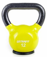 UltraFit Protector Kettlebell - 12 lb, Lime Green
