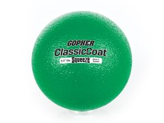 "Gopher SoftiBall Coated-Foam Ball - 6.3"" dia, Color Varies"