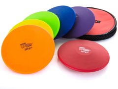 Rainbow EZ Throw Discus 250g Set
