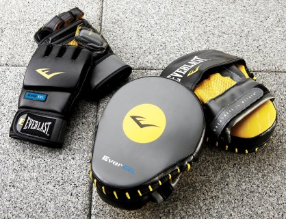 Everlast® Cardio Training Gloves and Curved Punch Mitts