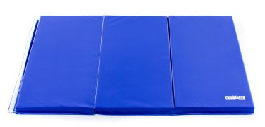 Royal blue 6 ft by 4 ft instructor mat