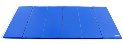 Royal blue 12 ft by 6 ft instructor mat