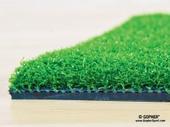 Close up of green turf