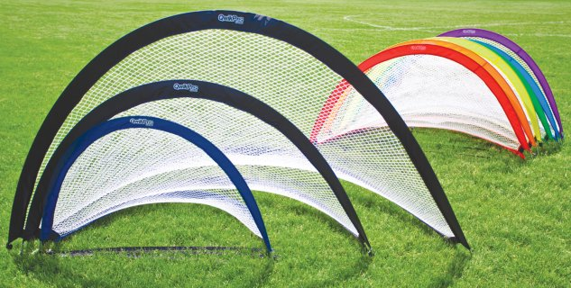 QwikPro™ Round Pop-Up Soccer Goals
