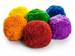 Rainbow® Medium-Density Fleece Balls