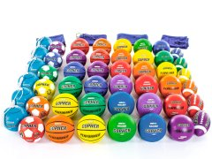 Gopher Rubber Playground Ball Packs
