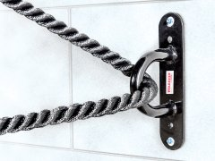 Rope wall attachment